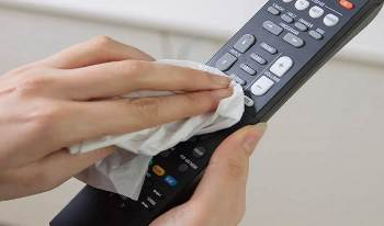 How To Clean The Remote Control?