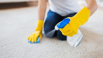 How to Clean a Carpet Without a Vacuum