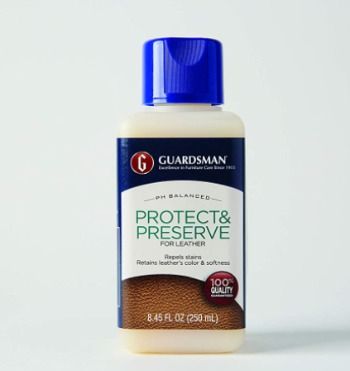 Guardsman Protect Preserve Leather Cleaner