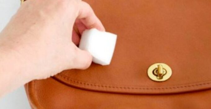 how to remove water stains from your leather handbag