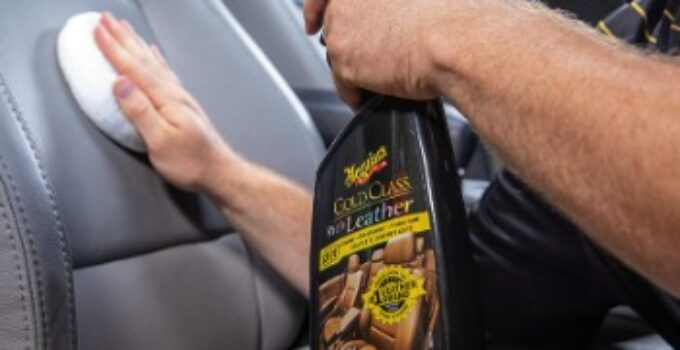 How to remove paint from leather car seats