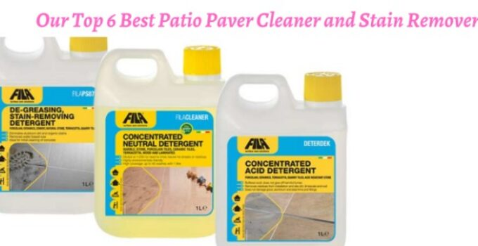 Best Patio Paver Cleaner